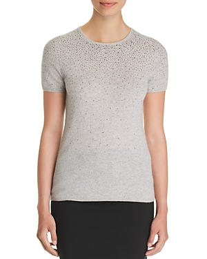 C by Bloomingdale's Cascade Embellished Cashmere Sweater - 100% Exclusive