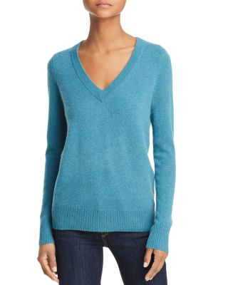 V Neck Cashmere Sweater   100 Percents Exclusive by Aqua Cashmere