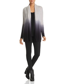C by Bloomingdale's - Dip-Dye Cashmere Cardigan - 100% Exclusive