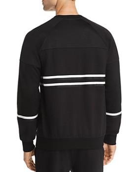 PS Paul Smith - Striped Paneled Crewneck Sweatshirt