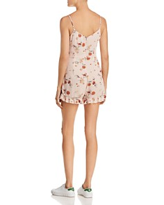 Lost and Wander - Rosa Ruffled Floral-Print Romper