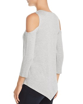 Design History - Studded Cold-Shoulder Top