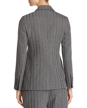 Emporio Armani - Two-Button Metallic Stripe Blazer