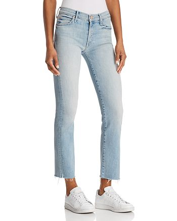 4acdd6d948276 MOTHER - Rascal Ankle Snippet Jeans in Tinge