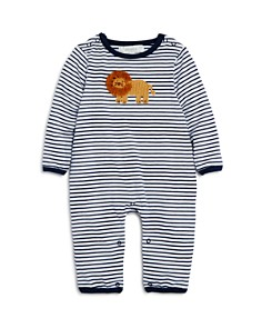 Albetta - Boys' Striped Crochet Lion Coverall, Baby - 100% Exclusive