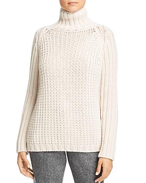 Weekend Max Mara Amburgo Openwork Cable-Knit Virgin Wool Sweater