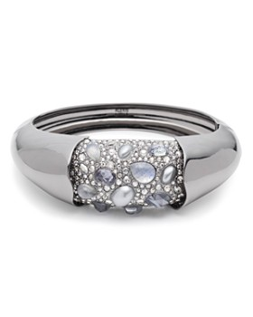 Alexis Bittar - Crystal-Encrusted Hinge Bracelet