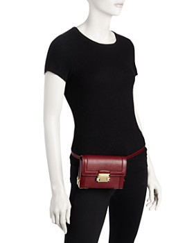 MICHAEL Michael Kors - Jayne Convertible Leather Belt Bag - 100% Exclusive