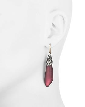 Alexis Bittar - Crystal Cluster Drop Earrings