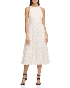 ABSTRACT LACE DRESS