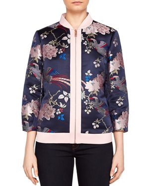 DALALE JACQUARD BOMBER JACKET from Bloomingdale's