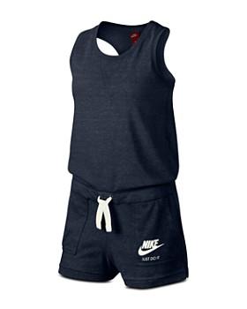 Nike - Girls' Gym Vintage Romper - Big Kid