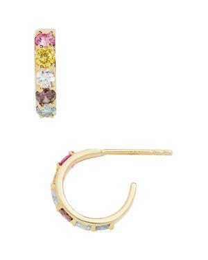 Baublebar Regina Multicolor Stone Hoop Earrings