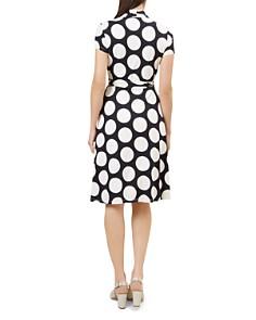 HOBBS LONDON - April Polka Dot Wrap Dress