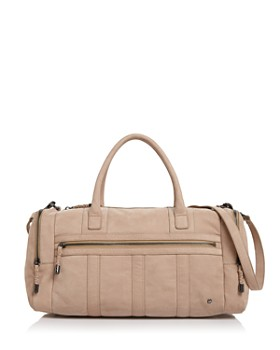HALSTON HERITAGE - Jerry Medium Nubuck Leather Duffel HALSTON HERITAGE -  Jerry Medium Nubuck Leather Duffel. Quick View 21e77cf67a305
