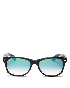 RAY-BAN UNISEX WAYFARER RUBBERIZED SUNGLASSES