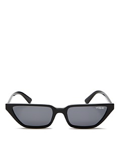 Vogue Eyewear - Women's Gigi Hadid for Vogue Slim Square Cat Eye Sunglasses, 53mm