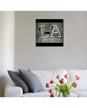 "Oliver Gal - LA Neon Art, 19"" x 10"""