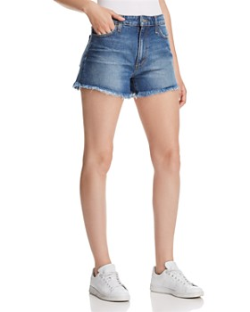 Joe's Jeans - High Rise Denim Boyfriend Shorts in Teresa