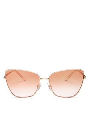 Dolce & Gabbana Women's Sicilian Sweet Mirrored Oversized Square Sunglasses, 62mm