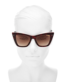 Carrera - Women's Cat Eye Sunglasses, 52mm