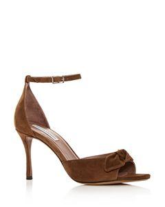 e4b74453d650 kate spade new york Women s Ismay Suede High-Heel Bow Sandals ...