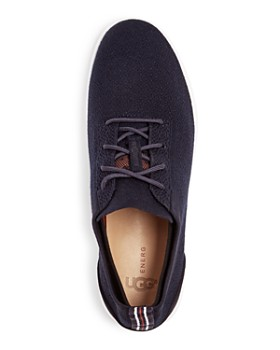 UGG® - Men's Feli Hyperweave Lace-Up Leather Sneakers