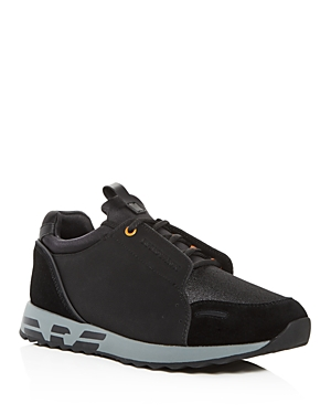 Armani Men's Leather & Suede Lace Up Sneakers