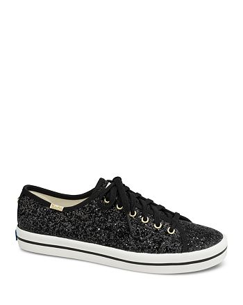a132b33c1cef Keds - x kate spade new york Women s Kickstart Glitter Lace Up Sneakers
