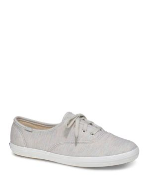 KEDS WOMEN'S CHAMPION JERSEY LACE UP SNEAKERS
