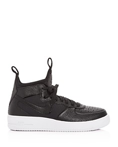 Nike - Women's Air Force 1 Ultraforce Leather Mid Top Sneakers