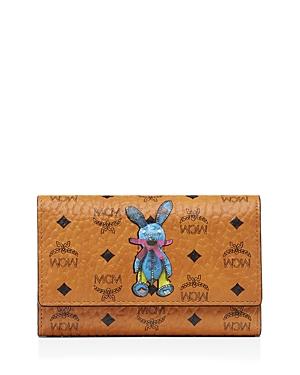 Mcm Rabbit Flap Wallet