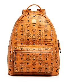MCM - Stark Gunta Medium Studded Backpack