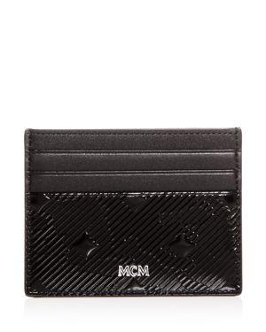 MCM COBURG MUNICH LION EMBOSSED CARD CASE