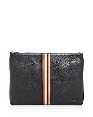 Paul Smith Multistripe Leather Portfolio