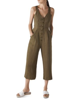Liza Cropped Jumpsuit by Whistles