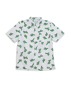 Sovereign Code - Boys' Cactus-Print Button-Down - Little Kid, Big Kid