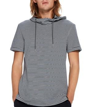 Scotch & Soda - Striped Hooded Pullover