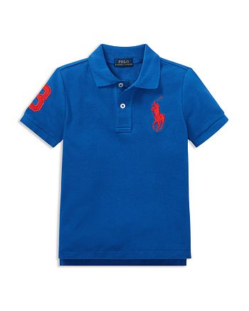 Ralph Lauren - Boys' Stretch Cotton Big Pony 3 Polo - Little Kid