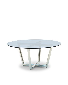 Mitchell Gold Bob Williams - Modern Round Cocktail Table - 100% Exclusive