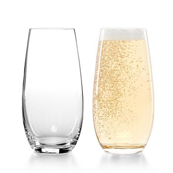 Riedel - Stemless O Champagne Glass, Set of 2