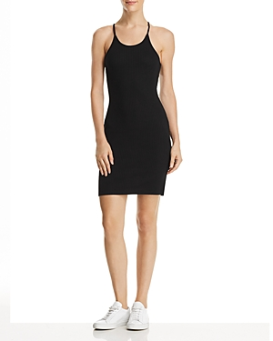 French Connection Nikki Acid Ribbed Sheath Dress