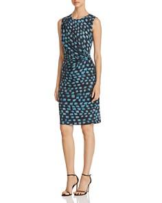 NIC and ZOE - Printed Vivid Twist Dress