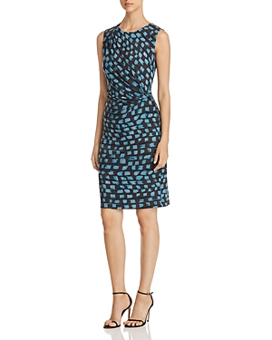 Nic+Zoe Printed Vivid Twist Dress