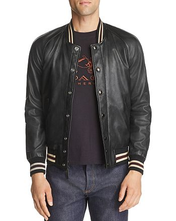 COACH - Reversible Leather Souvenir Jacket