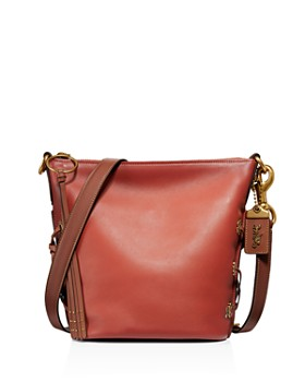 COACH - Glovetanned Leather Color-Block Duffle Bucket Bag - 100% Exclusive