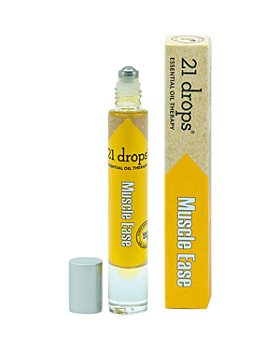 21 Drops - Muscle Ease Essential Oil Roll-On 0.3 oz.
