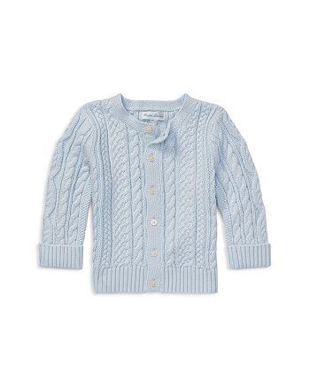 c80ef7571c Ralph Lauren Boys' Aran-Knit Cotton Cardigan - Baby | Bloomingdale's