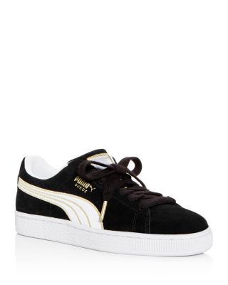 Women's Varsity Suede Lace Up Sneakers by Puma