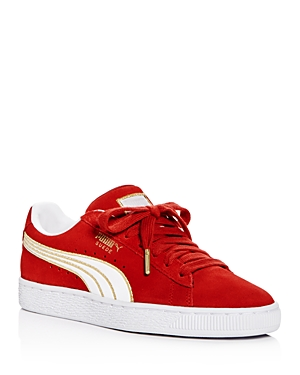 Puma Women's Varsity Suede Lace Up Sneakers